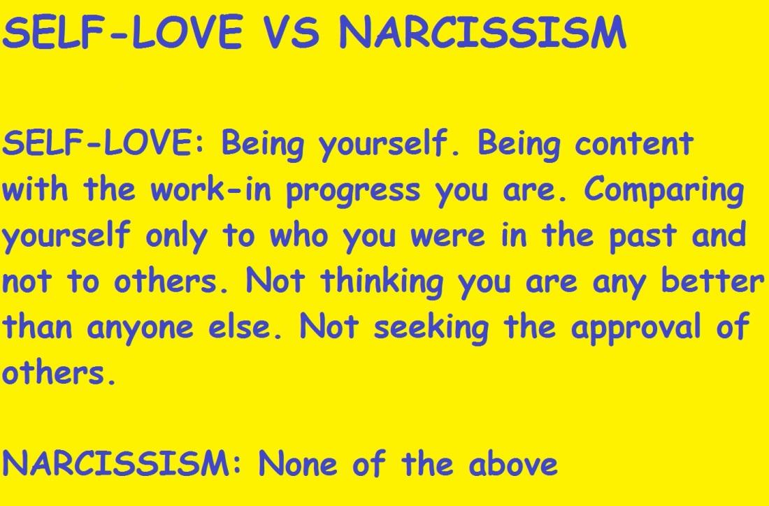 NARCISSISM III